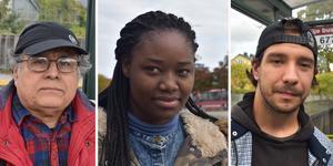 Tänk på betygen! - tycker samtliga av de NT träffade på Norrtälje busstation.
