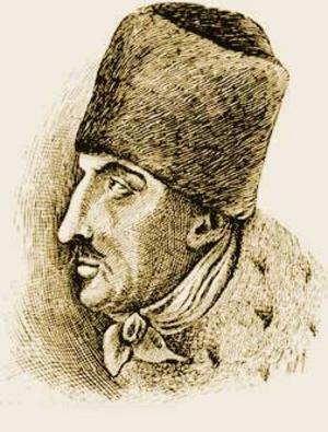 Jakob Frank. Illustration från 1895 av okänd konstnär.