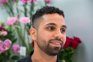 Mohammad framhåller att han trivs i Kärnanhuset, med alla de människor som jobbar där.