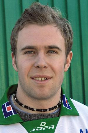 En då 23-årig Anders Bruun värvades till VSK inför säsongen 2002/03. Foto: VLT Arkiv
