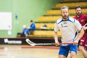 Johan Keijser, under sin första match efter comebacken i IBK Sundsvall.