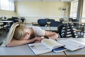 De två första timmarna en vanlig skoldag är bortkastad tid för många morgontrötta elever, enligt insändaren.