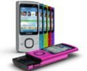 6700 Slide och 7230 - två skjutbara från Nokia