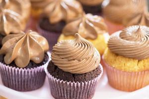 Passion 4 Baking handlar mycket om cupcakes. Hela den amerikanska sötsakstrenden ligger Manuela varmt om hjärtat, så har hon också rötter i USA.Foto: Leif R Jansson/TT