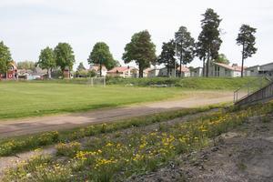 Norra IP i Sandviken.