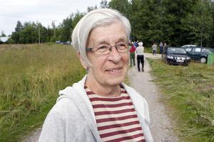 Margareta Halfvarson är med i Finnmarkens historiegrupp som tog initiativ till vandringen.
