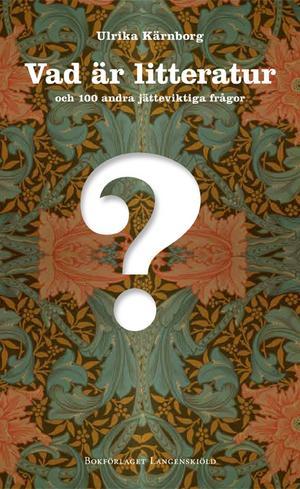Bokmässan i Göteborg. betyder hundratals författare, cirka hundratusen besökare, över 400 seminarier. Men vad är egentligen litteratur? Crister Enander förfasas över en bok som försöker förklara.