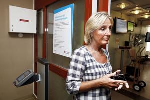 – Jag tror att det här kommer att bli toppen och tycker att det är mycket mer patientsäkert, säger akutens avdelningschef Ann-Marie Broqvist.