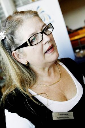 Inger Henriksson, informatör på Skatteverket.