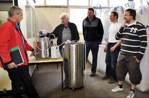 Apparaturen ska bland annat användas till att analysera råvarorna från olika gårdar.