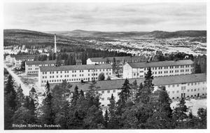 Sidsjöns sjukhus på 40-talet.
