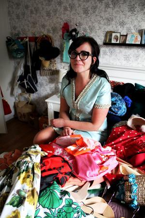 Heidi Hed har varit intresserad av vintage-klänningar sedan hon var liten.