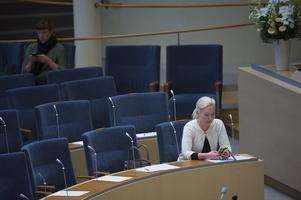 Interpellationsdebatt  med infrastrukturminister Anna Johansson (S).