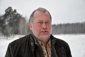 Bengt Andersson vill satsa på bisonoxesafarin.