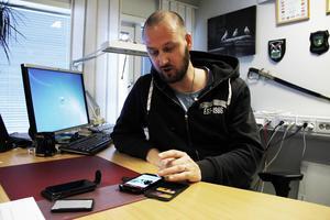 Andreas Löfstrand, polis och ordförande för polisförbundet Gävleborg, ser en stor användning av appen. Den får högst betyg av honom. – Jag kommer använda appen både privat, men också professionellt.