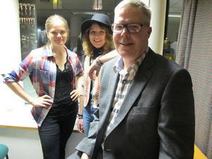 Heidi Baier, Anna Holm och Leif Lindström.