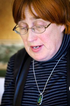 Studentprästen Ruth Törnqvist är både arg och ledsen över att kyrkohgerden Gunnar Prytz vände sig till biskopen utan att berätta det för henne. Törnqvist jobbar numera inte i Östersunds församling.Foto: håkan luthman