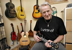 Musik och dans tar mycket plats i G Herberth Nordmarks liv numera. I morgon fyller han 65 år, men festen har han redan i dag.