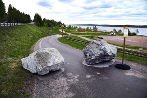 Sundsvalls kommun har stängt Svartvikskajen för fordonstrafik.
