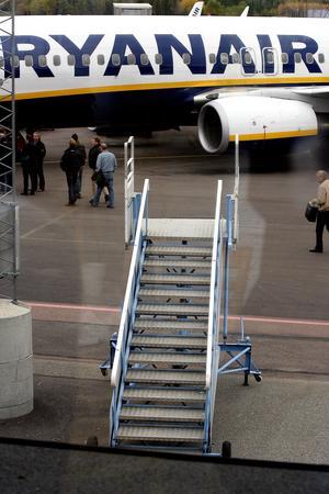 Säg kanske kanske. Socialdemokraterna får kritik för sin linje om flygplatsens framtid. Foto: VLT:s arkiv