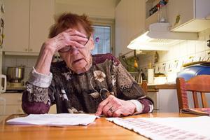 Astrid Persson tycker att familjeläkaren har fel i sitt brev till henne.
