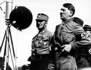 Extremism. Adolf Hitler blev rikskansler i Tyskland det kristyngda året 1933. Men rykten om en nazistisk lokalavdelning skulle bildas i Nynäshamn dementerades i NP.