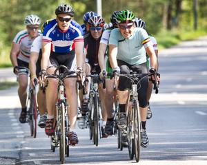 Ride of Hope heter den långa cykelturen genom Sverige. I Örebro stannade cirka 50 cyklister vid Eurostop.