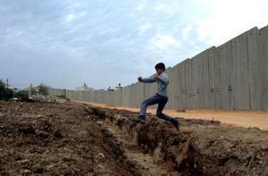 Muren som säkerhetsbarriär.