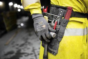 Bland de unga manliga företagarna i Gästrikland dominerar bygg och transport. Foto: Mikael Andersson, TT.