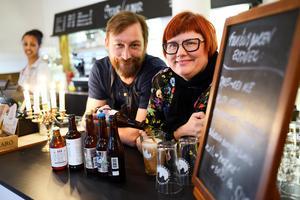 Patrik Jonsson och Anna Frisk ligger bakom Eat up i Sundsvall. Den tredje upplagan äger rum den 19 januari och startar på Kulturmagasinet.