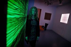 Siv Anita Elstad visar lysande vävar på Lars Bolin Gallery.