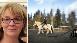 Kicki Ronnerberg-Bäckman, ansvarig för idrotts- och näringspolitik vid Ridsportförbundet, tycker att det är häpnadsväckande att ridning inte är en skattefri friskvårdsförmån.