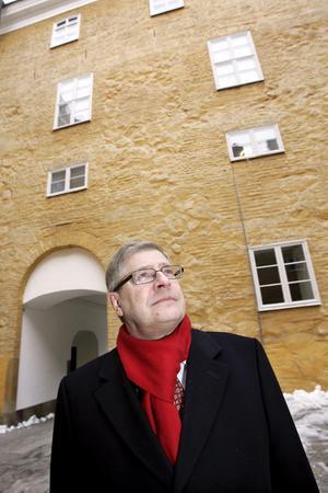 DÅ VAR HAN NY PÅ JOBBET. Ingemar Skogö i februari 2009 när han utsågs till ny landshövding i Västmanlands län. Sedan 1 juni det året har han haft den posten.Foto: Kenneth Hudd