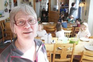 Karin Eriksson är förskolechef och har varit med sedan Kongron startade 1987, då som förälder.