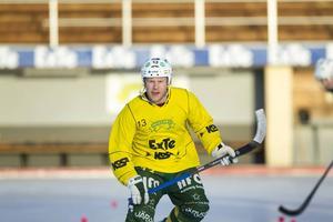 Johan Berglund, försvarsledare i Ljusdal som inleder kvalet på fredagen.