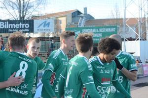 Johan Eklund var inblandad i två av Brages mål.