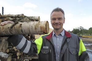 Ronny Sjöberg, chef för anläggning och investeringar på Stora Enso Fors Bruk.
