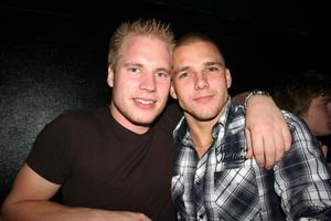 Konrad. Robin och Micke