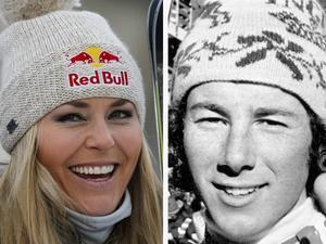 Lindsey Vonn jagar Ingemar Stenmark och hoppas slå hans rekord.