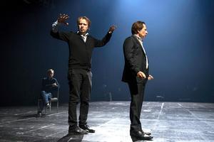 Dramatenchefen Eirik Stubø hittade sin Oidipus i Reine Brynolfsson.Foto: Henrik Montgomery/TT