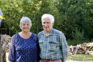Margareta Hådell fyller 70 år på tisdag. Här med maken Gösta.