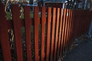 7. Klassiskt Bullerby-staket.