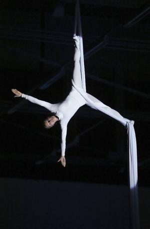 Gymnastik på hög nivå.