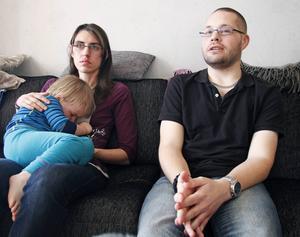 Michael Westerlund hittades hemma av sin fru Malin när han svimmat av förhöjt blodsocker.
