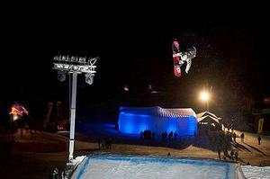 Slovenska Strbske Pleso bjöd på en frän Big Air-tävling.