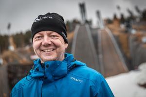Jonas Boström är verksamhetschef vid Lugnetanläggningarna, Falun.