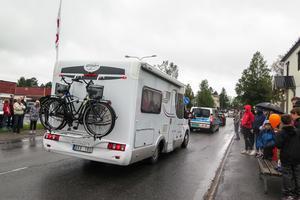 För en del turister och andra som passerade Hammerdal sänkte Joeltåget hastighetsgränsen på E 45 till 5 kilometer i timmen.