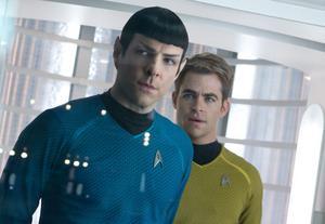 Spock och Kirk.