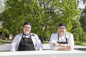 Tommy och Michael Forsgren är nya krögare i Galtström i sommar.