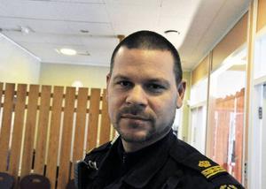 Mats Nilling var en av hundförarna som var på plats under onsdagen.